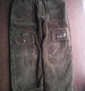 Штаны/брюки утепленные (размер 6 (116) на 6 лет