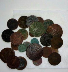 Набор медных монет Р.И.