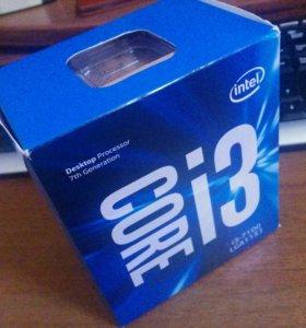 Intel i3 7100 3,9Ghz BOX гарантия 3года!