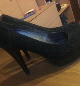 Туфли замшевые Bootes