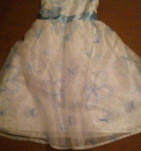 Нарядное платье для девочки (торг)
