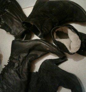 Зимняя обувь.Кожа мех натуральные