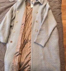 Новое пальто oversize