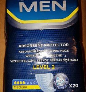 Прокладки впитывающие для мужчин TENA