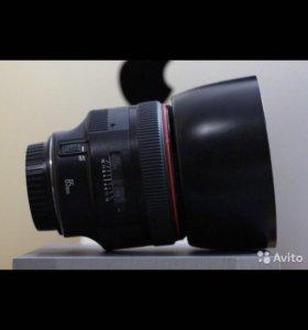 Обьектив Canon 85 1.2 L