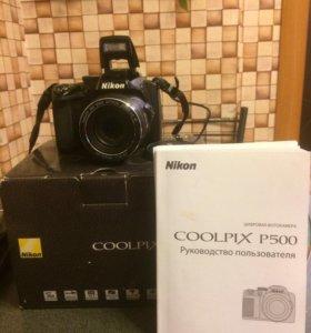 Фотоаппарат Nicon coolpix P 500