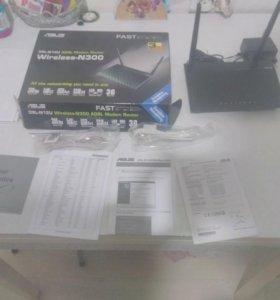 Роутер:Asus DSL-N12U ADSL Modem Router