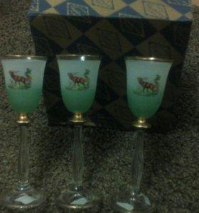 Стаканы для водки.