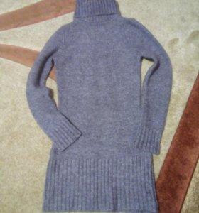 Мохеровый свитер - туника