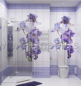 Панели ПВХ 3Д эффект для ванны, туалета, кухни