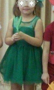 Платье елки