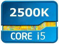 Intel Core i5-2500K Sandy Bridge 3300MHz, LGA1155,