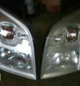 Фары переднего света на Ford Trasit