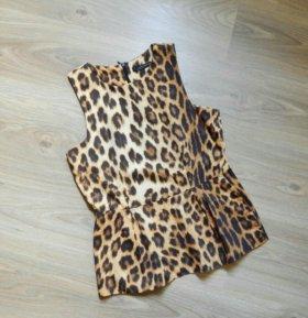 Стильный леопардовый топ Zara