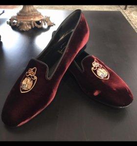 Туфли- лоферы Италия новые