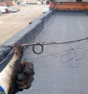 Ремонт крыши. Кровельщик