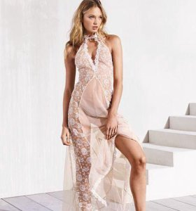 Victoria secret high neck gown нижнее белье