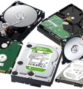 Жёсткие диски для комп.-ноутбуков 3,5/2,5/SSD