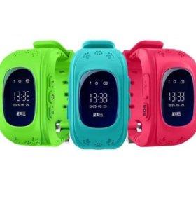 Детские умные часы Q50 большой выбор