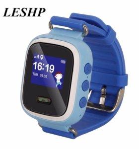 Детские умные часы Q60 синие