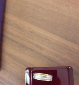 кольцо мужское обручальное, новое.