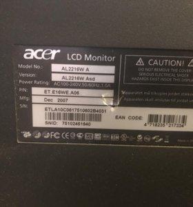 Монитор acer 22