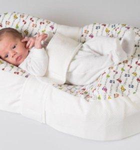Кокон - гнездышко для новорожденных «Зевушка»