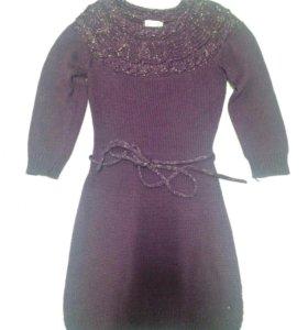 Вязаное платье ( туника)