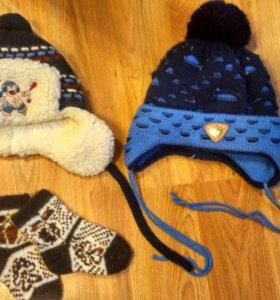 Зимние шапочки.