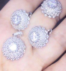 Комплект из серебра (новые)