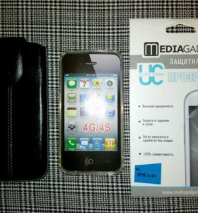 iPhone 4/4S - чехол, бампер, плёнка