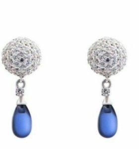Серьги NewArt Jewellery серебро