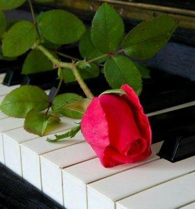 Уроки вокала, игры на фортепиано и синтезаторе