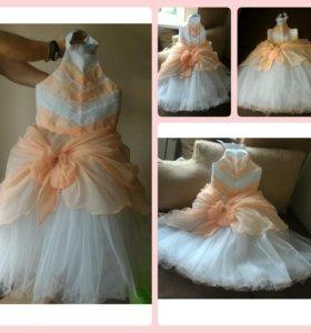 Новое праздничное платье (5-7 лет)