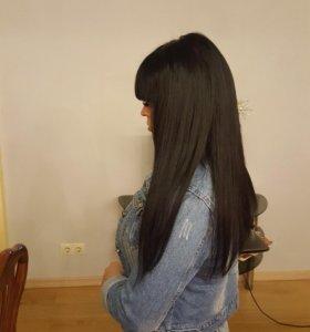 Наращивание волос VIP