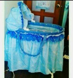 Продам детскую кровать -люльку