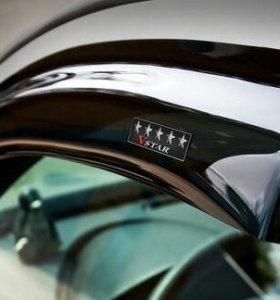 Дефлекторы на Chevrolet  Cruz хетчбэк