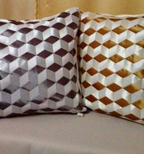 Декоративные диванные подушечки ручной работы