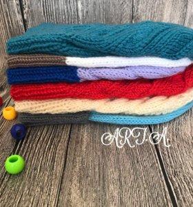 Шапки, шарфы, снуды,комплекты