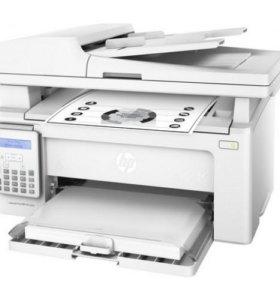 Новое лазарное МФУ HP LJ PRO M132fn