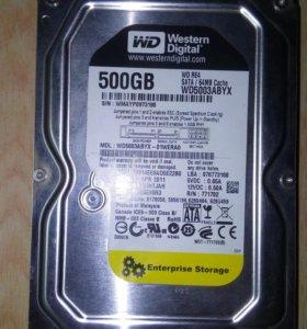 Western Digital RE4 500 Гб WD5003abyx SATA 64 Мб