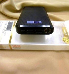 Внешний аккумулятор PRODA на 30000mah