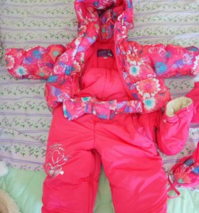 Комбинезон-трансформер детский зимний