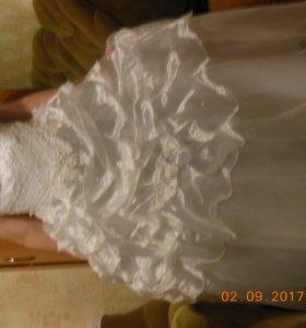 Свадебное платье,1 раз б/у