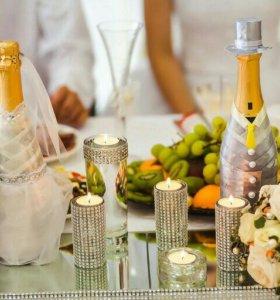 Декор свадебных мелочей