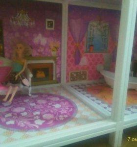 Кукольный домик, подробности по телефону.