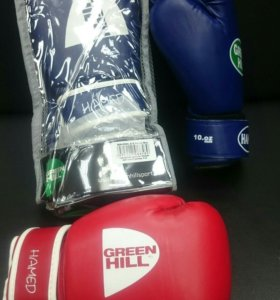 Перчатки бокс Green Hill Hamed