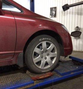 Проставки Honda Civic, FD7