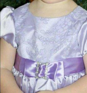 Праздничное платье на 1,5-2,5 года