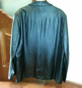 Пиджак мужской из натуральной кожа